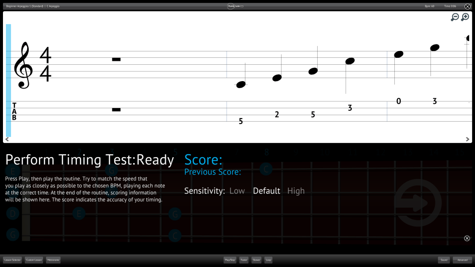 Purely Lute Screenshot Perform Testing Ability